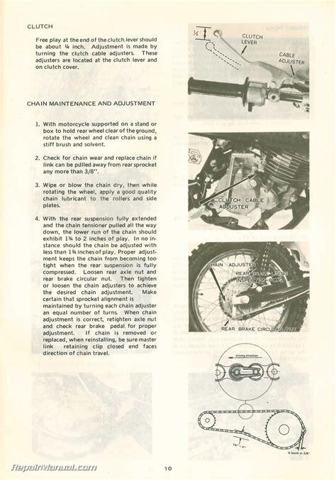 1971 Hodaka Ace100b Motorcycle Spare Parts Manual Reprint R 929550b