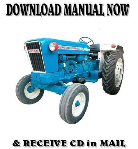 1975 Ford 5500 Factory Service Workshop Manual