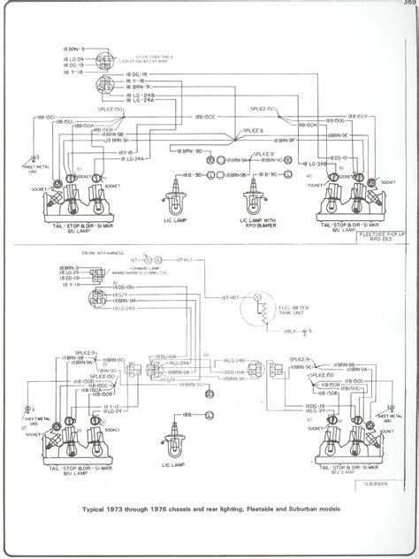 1976 Chevrolet Truck Wiring Diagram