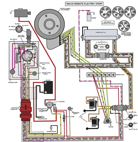 1977 200 Mercury Ignition Switch Wiring Diagram