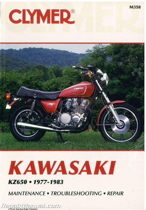 1977 1983 Clymer Kawasaki Motorcycle Kz650 Service Manual New M358