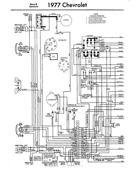 1977 Chevrolet Truck Wiring Diagram