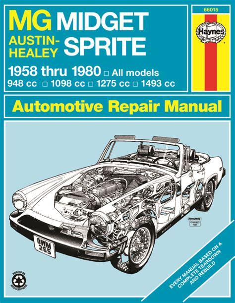 1977 Mg Midget Repair Manual