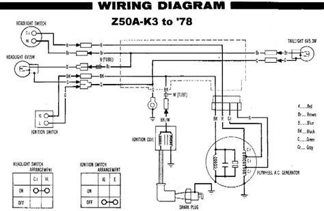 [SCHEMATICS_48EU]  1977 HONDA Z50 WIRING DIAGRAM   modularscale.com   Z50 Wiring Diagram      Modularscale