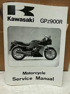 1984 1990 Kawasaki Zx900 Service Repair Manual