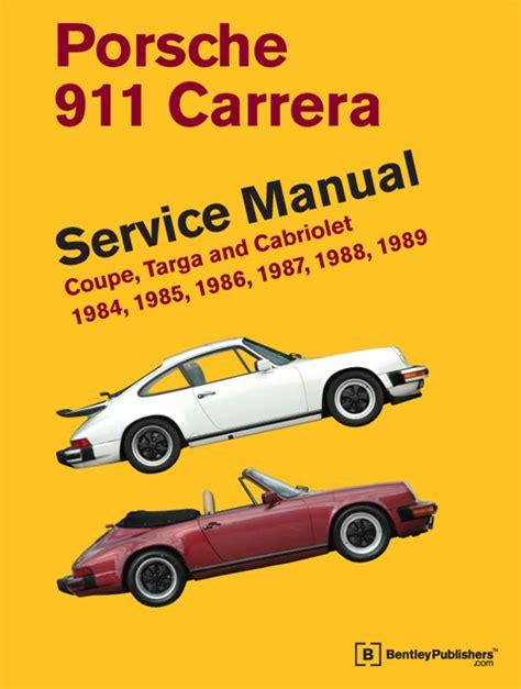 1984 Porsche 911 Carrera Service And Repair Manual