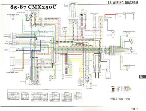 1985 450 Honda Wiring