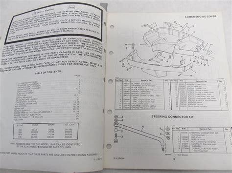 1985 Evinrude 120 Manual