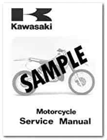 1985 Kawasaki Kdx200a3 Factory Owners Service Manual U99920 1292 01