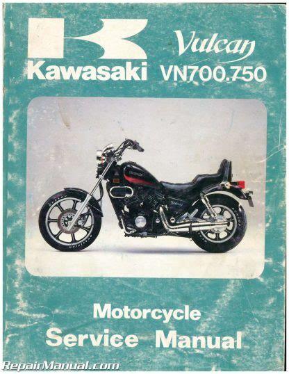 1985 Kawasaki Vn700 750 Service Manual