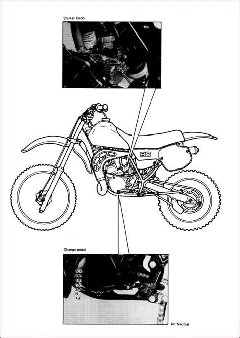 1985 Yamaha Yz80 Manual