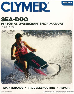 1988 Seadoo Owners Manual