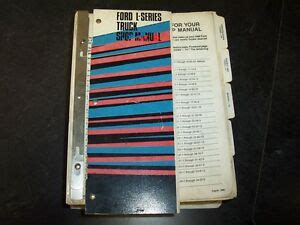 1989 Ford L8000 Repair Manual