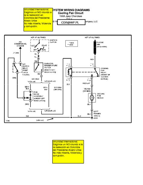 1989 Jeep Cherokee Wiring Diagram Picture
