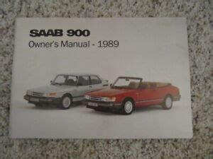 1989 Saab 900 Manual