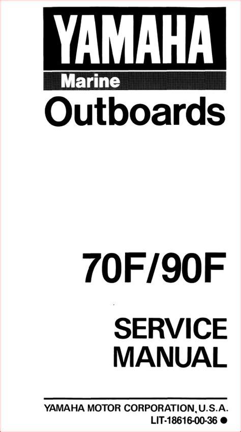 1989 Yamaha 3 Sf Outboard Service Repair Maintenance Manual Factory Service Manual