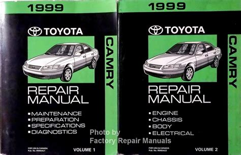 199 Toyota Camry Owners Manual