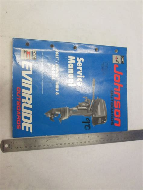 1990 Johnson 8hp Outboard Manual