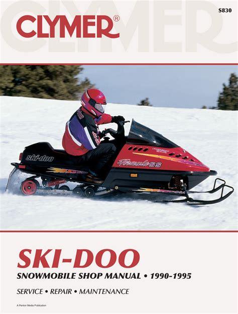1990 Ski Doo Formula Mx Lt Factory Service Workshop Manual