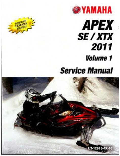 1991 1992 Yamaha Venture Gt Xl Vt480 Snowmobile Factory Service Manual Lit 12618 Vt 48