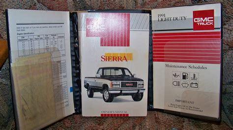 1991 Gmc Jimmy Repair Manual