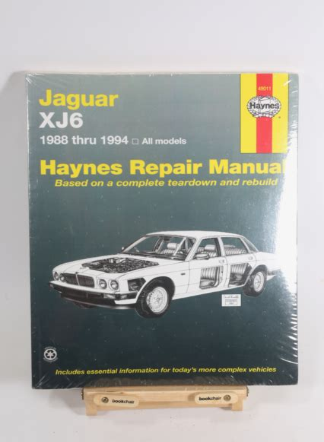 1991 Jaguar Xj6 Service Manual