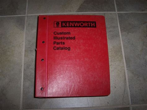 1991 Kenworth W900 Owners Manual