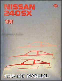 1991 Nissan 240sx Service Repair Manual