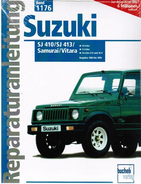 1991 Suzuki Sj 413 Service Repair Manual