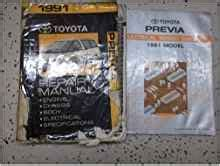 1991 Toyota Previa Van Service Shop Repair Manual Set Factory Oem How To Fix 91 Service Manual And Wiring Diagrams Manual Dev Gisent01 Vcgi Vermont Gov