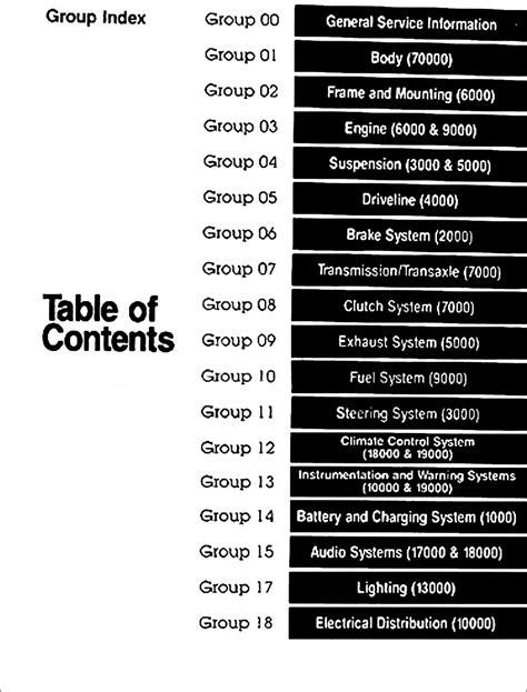 1992 Ford Mustang Repair Manual