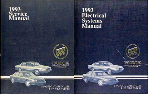 1993 Buick Park Avenue Service Repair Manual