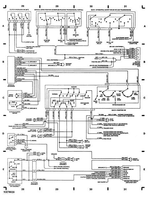 1993 Ford F350 Wiring