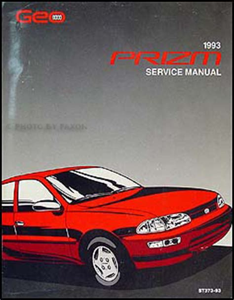 1993 Geo Prizm Manual