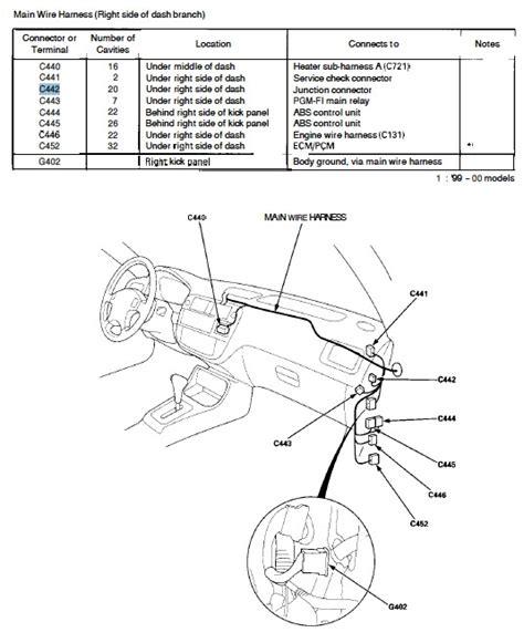 1993 Honda Accord Brake Light Wiring Diagram