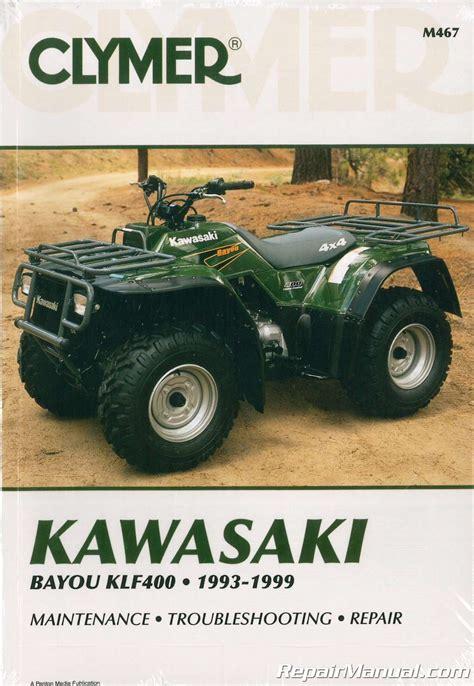 1993 Kawasaki Bayou 220 Manual