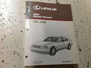 1993 Lexus Gs300 Factory Repair Manual