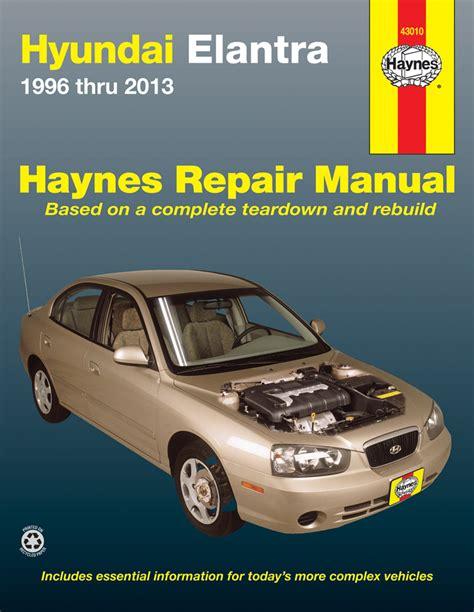 1994 Hyundai Elantra Haynes Repair Manual