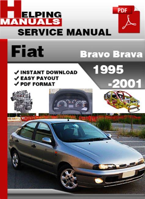 1995 2001 Fiat Bravo Brava Workshop Repair Service Manual In Italian
