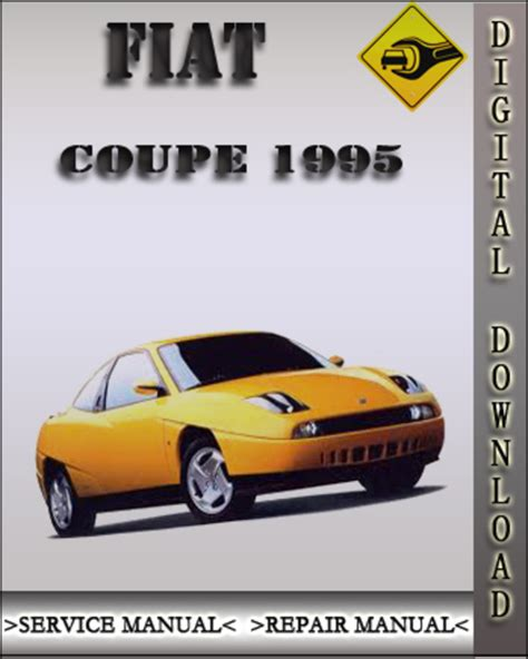 1995 Fiat Coupe Factory Service Repair Manual