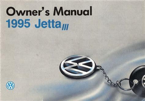 1995 Vw Jetta Owner Manual