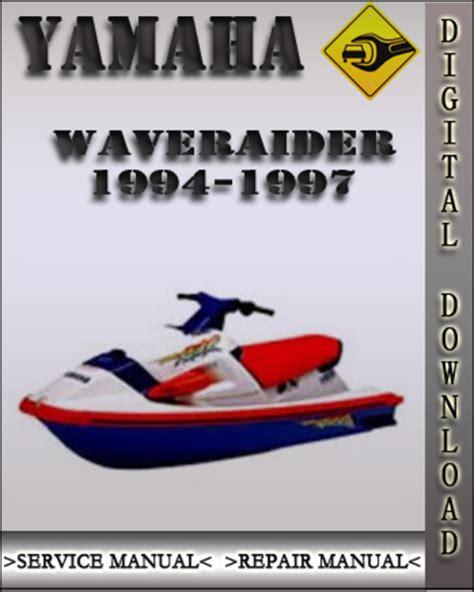 1995 Waveraider Owners Manual