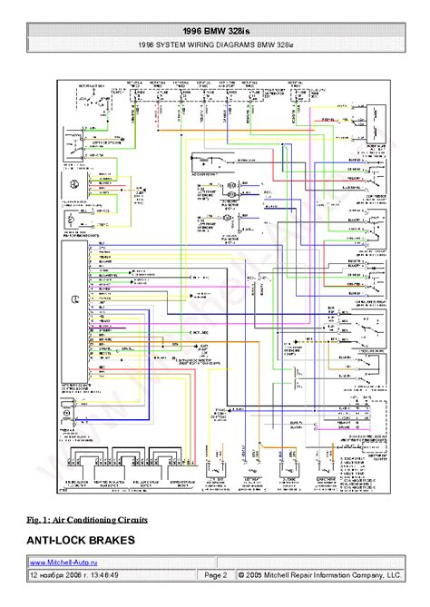 1996 Bmw 328i Wiring Diagrams