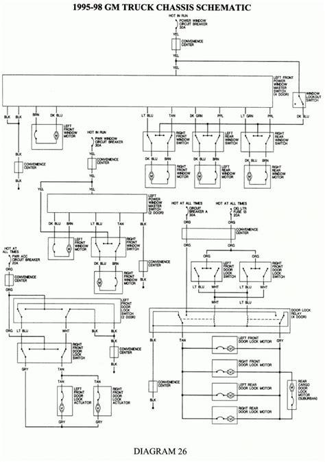 1996 Chevrolet Suburban Wiring Schematics