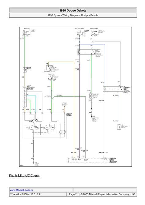 1996 Dakota Engine Wiring Diagram