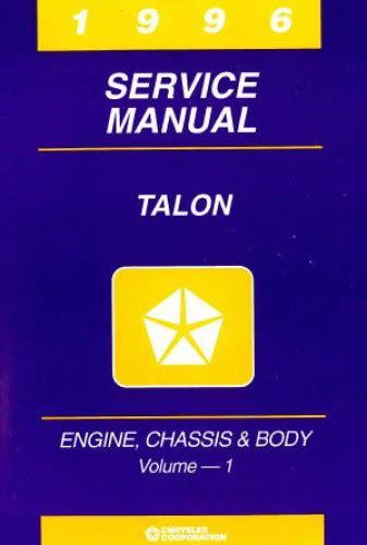 1996 Eagle Talon Service Repair Manual