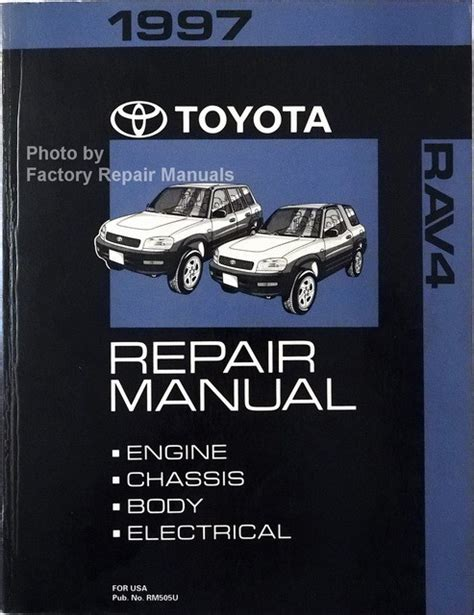 1997 Rav4 Service Manual Pd