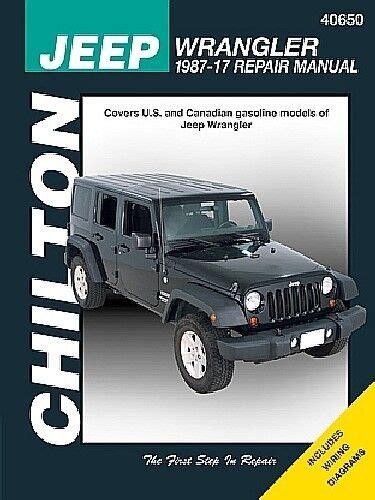 1997 Jeep Wrangler Repair Manual