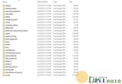 1997 Mazda Miata Service Repair Manual