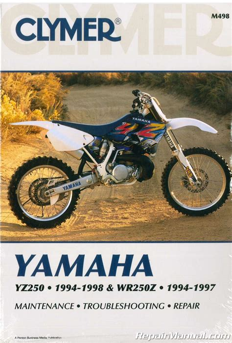 1997 Yz 250 Factory Service Manual